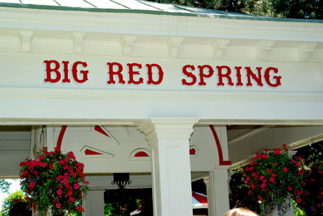 Big Red Spring sign